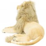Pelúcia Leão Realista Deitado 70cm