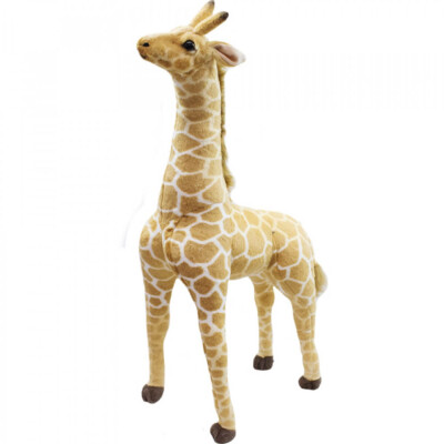 Pelúcia Girafa Realista 90cm