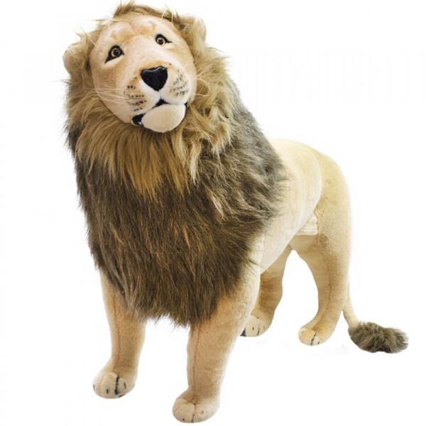 Pelúcia Leão Realista 110cm