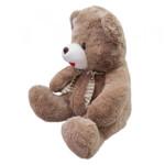 Pelúcia Urso Cachecol Quadriculado 48cm