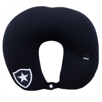 Almofada De Pescoço Botafogo  Isopor Com Massageador