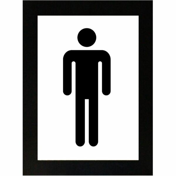 Placa Decorativa Cavalheiro Padrão 15×21 8007