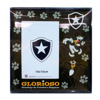 Porta Retrato Botafogo Vidro 1 Foto 15x10cm