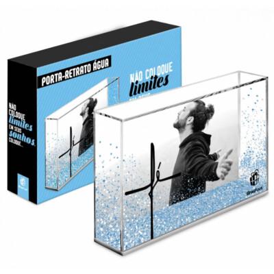 Porta Retrato Água Não Coloque Limites 10x15