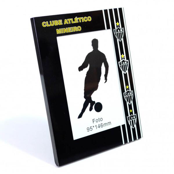 Porta Retrato Atlético Mineiro De Alumínio 1 Foto 10x15cm