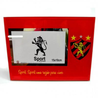Porta Retrato Sport De Vidro 1 Foto 10x15cm