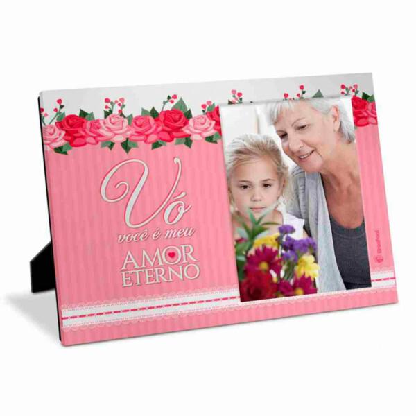 Porta Retrato Mãe Vovó Amor Eterno 10×15