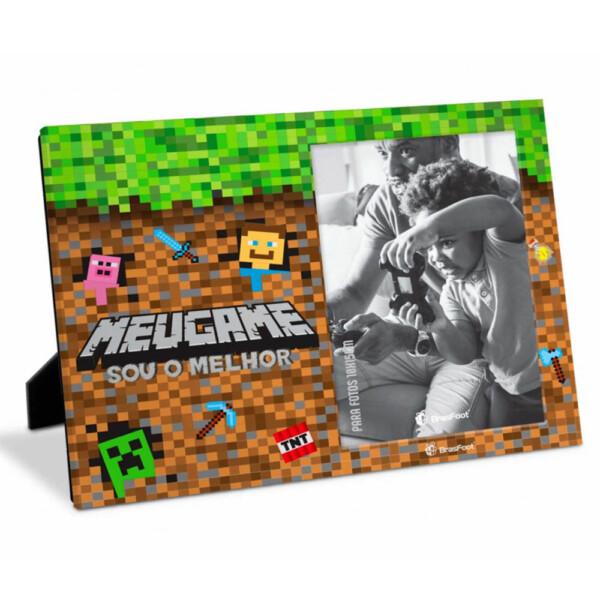 Porta Retrato Meu Game MineCraf 10×15