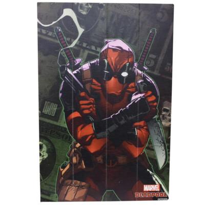 Quadro Deadpool Dolar 60x40cm