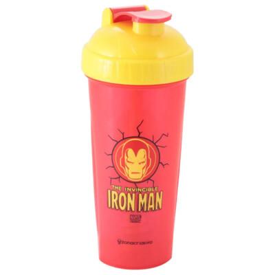 Shaker Fitness Homem De Ferro 600ml