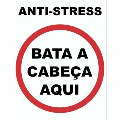 Placa Decorativa Anti Stress 038